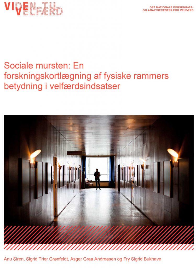 Billedet viser forsiden af Forskningskortlægningen Sociale musten